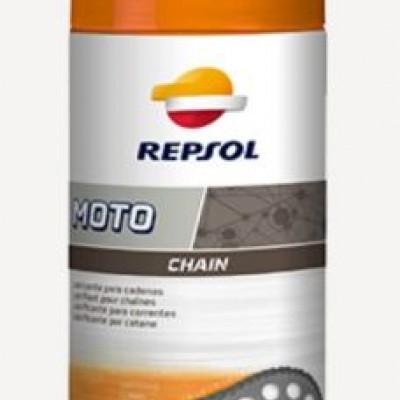 REPSOL MOTO CHAIN / SPREJ ZA PODMAZIVANJE POGONSKOG LANCA <BR>* 400 ML