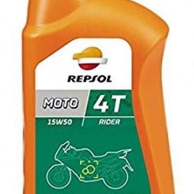 REPSOL RIDER 4T 15W50 / POLUSINTETIČKO MOTORNO ULJE <BR>* 1 LIT