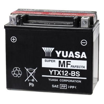 AKUMULATOR / BATERIJA  - YUASA YTX12-BS